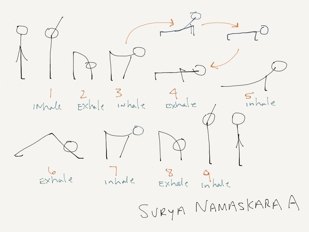 Sun Salutation (Surya Namaskara) – JackiFarrell